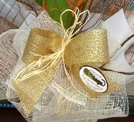 ribbon golden