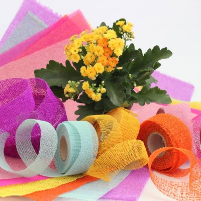 ribbons and sheets for basket