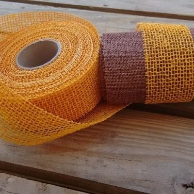ribbon naturatte yellow │ribbon DM1 chocolate